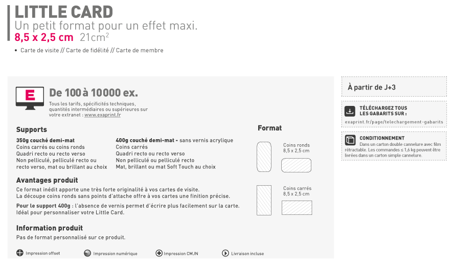 Simple Postale Fr Carte De Coins Ronds Ecocarte Visite Forme Libre With Particulier Classique