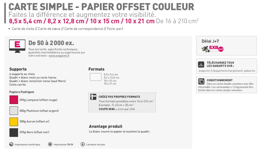 Informations Sur Le Produit FR Simple