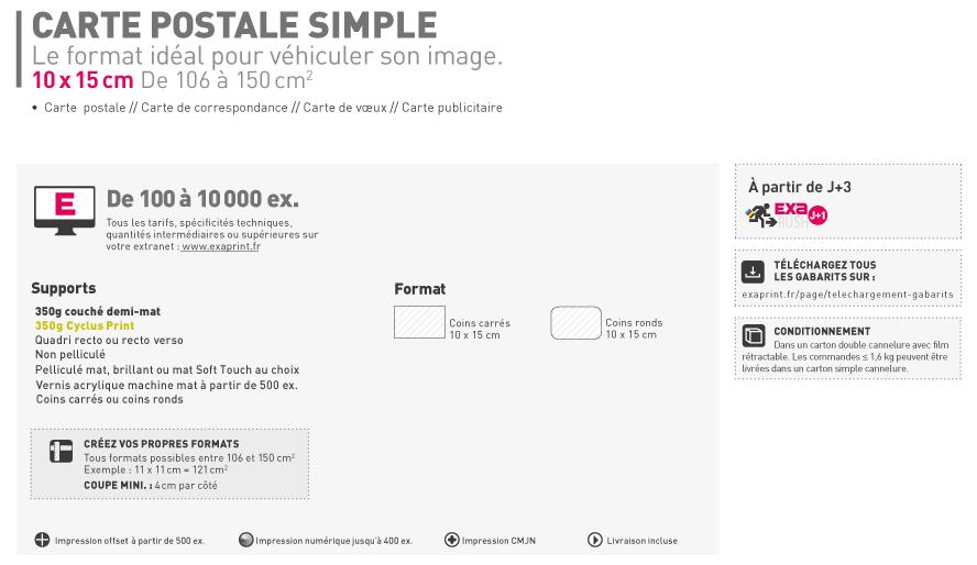 Postale Fr Carte Simple De Correspondance