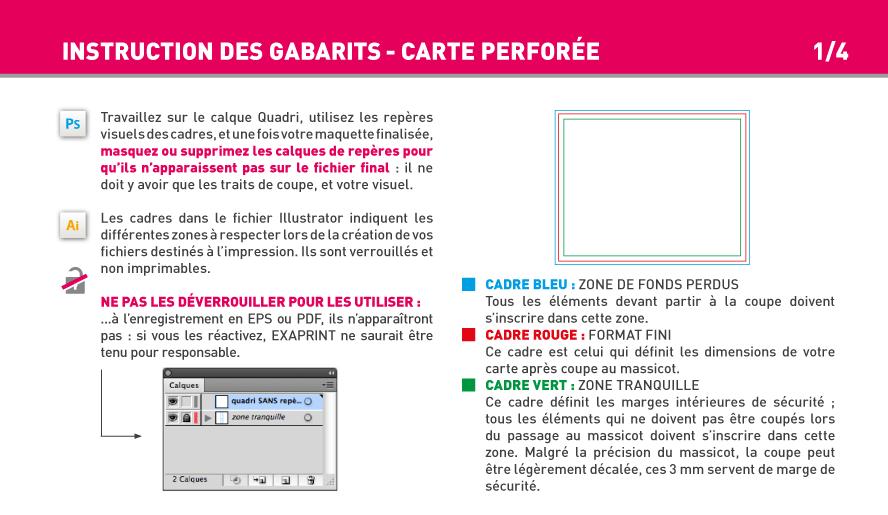 Impression Carte Perfore Ou Tiquette Textile En Papier