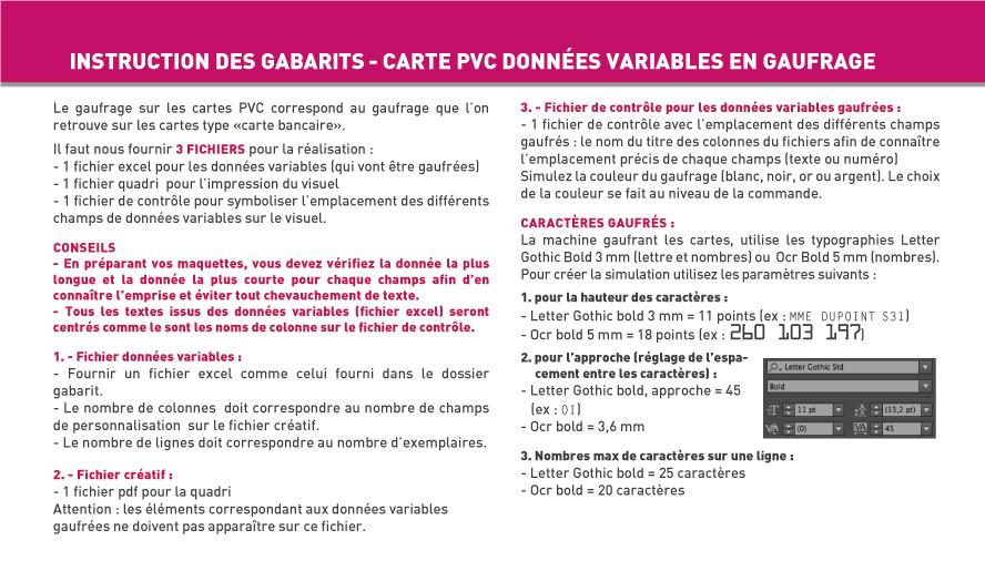 Carte Simple Et De Visite Plastique PVC Blanc