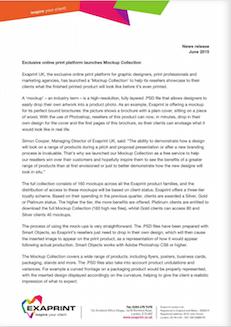Press release June15