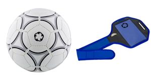 Sports et loisirs : événements sportifs, ballon de football rétro, la serviette de bain, le ballon de plage ...