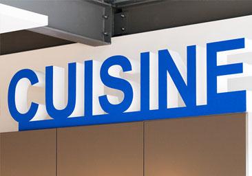 Lettre et logo 3D Polystyrene