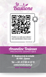 Forevercard la carte actualisable exemple 2 verso