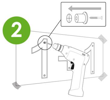 Colocación 2 logo vegetal sintético