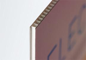 Panneau polypropylène alvéolaire taille max. 150x100